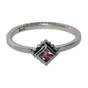 Charmins ring 009 zirkonia ruit rose