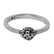 Charmins ring 052 bol met spikkels