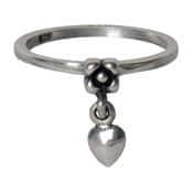 Charmins ring 125 hartje hangend