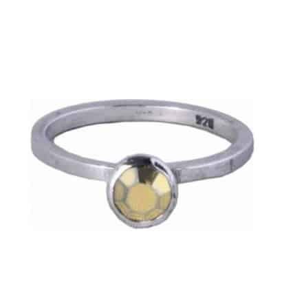 Charmins ring 143 goudkleurig