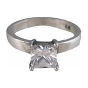 Charmins XL ring XL03 witte zirkonia
