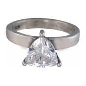 Charmins XL ring XL04 witte zirkonia