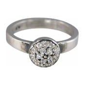Charmins XL ring XL07 witte zirkonia