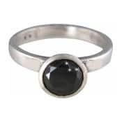 Charmins XL ring XL08 zwarte zirkonia
