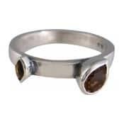 Charmins XL ring XL12 bruine zirkonia