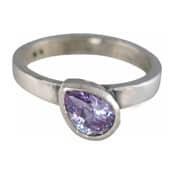 Charmins XL ring XL16 lila zirkonia