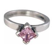 Charmins XL ring XL17 rose zirkonia