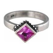 Charmins XL ring XL18 paars en rose zirkonia