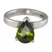 Charmins XL ring XL23 olijfkleurige zirkonia