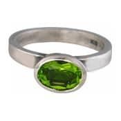 Charmins XL ring XL24 groene zirkonia