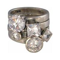 Charmins XL ringencombinatie XL1005 mega diamond combi