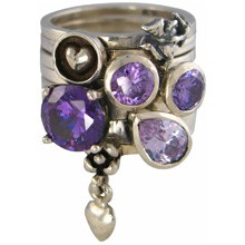 Charmins XL ringencombinatie XL1020 purple angel combi