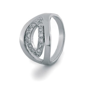 Luxenter ring R116 met zirkonia