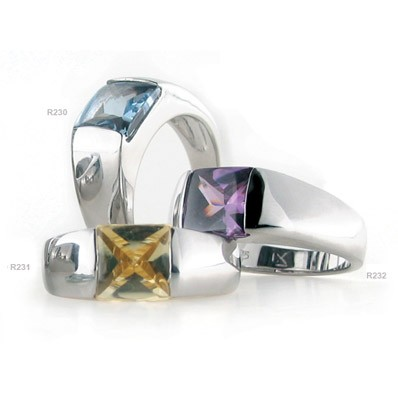 Luxenter ring R231 citrien geel
