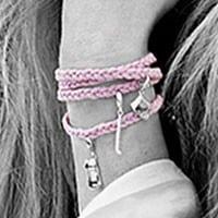 Zinzi by Fatima armband ZBF-11R roze
