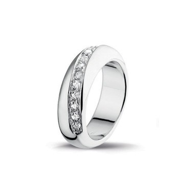Luxenter ring R170 zirkonia wit