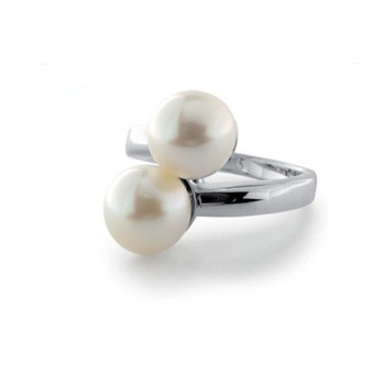 Luxenter ring R406 parels creme