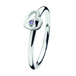 Spinning ring 143-07 Heartbeat