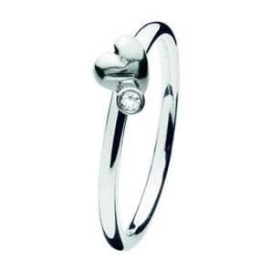 Spinning ring 164-01 Heart twist