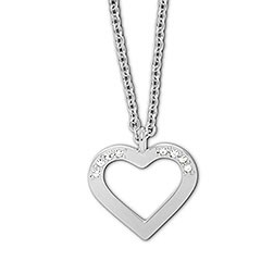 Swarovski charms hanger Hearted