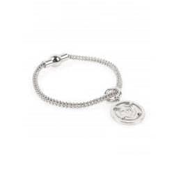 Tov Essentials armband 713 magneetsluiting balls cord zilver