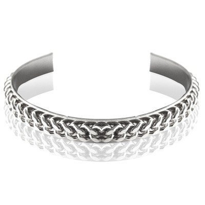 Tov Essentials armband 477 Love flat chain silver