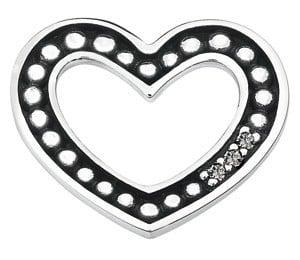 Spinning link 4312-13 Sprinkle heart