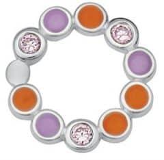 Spinning link 4314-10 Happy orange