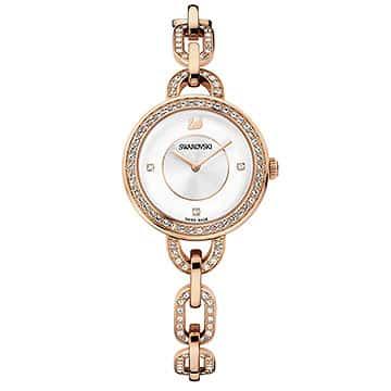 Swarovski horloge Aila rosegold PVD