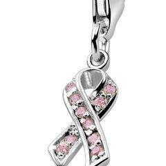 Zinzi charm Pink Ribbon