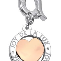 Joy de la Luz munt Coin little heart rose