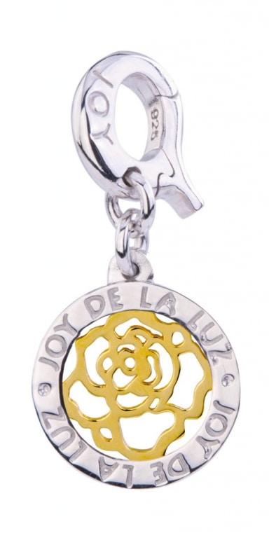 Joy de la Luz munt Coin roses are forever gold