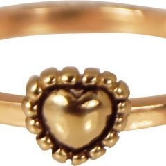 Charmins ring 210 hartje rose