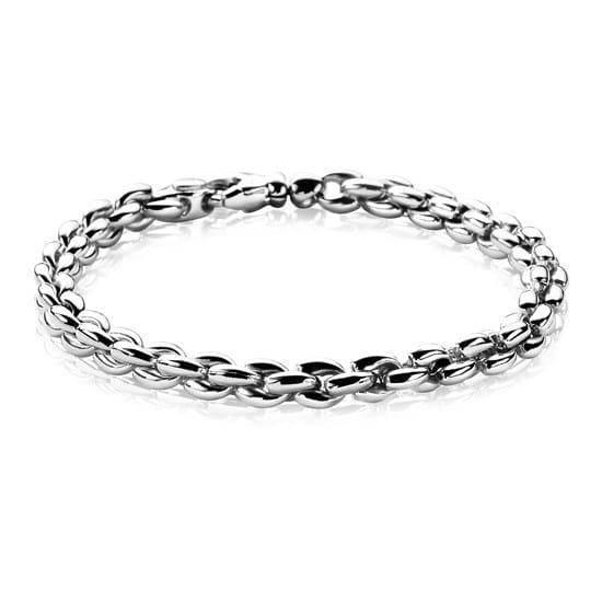 Zinzi zilveren schakelarmband ZIA1205