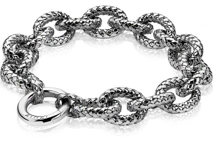 Zinzi zilveren schakel armband ZIA1072