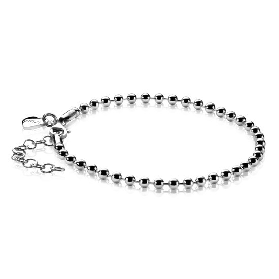 Zinzi zilveren bolletjes armband ZIA1127