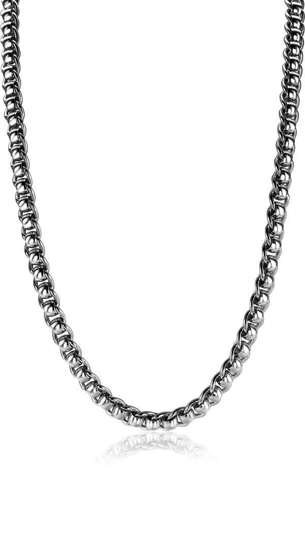 Zinzi zilveren ketting ZIC1075