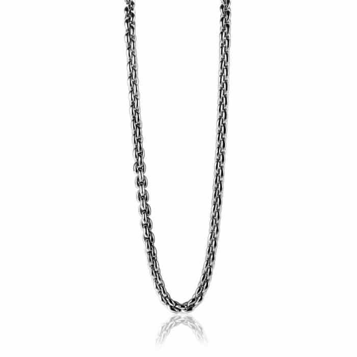 Zinzi zilveren schakel collier ZIC1205