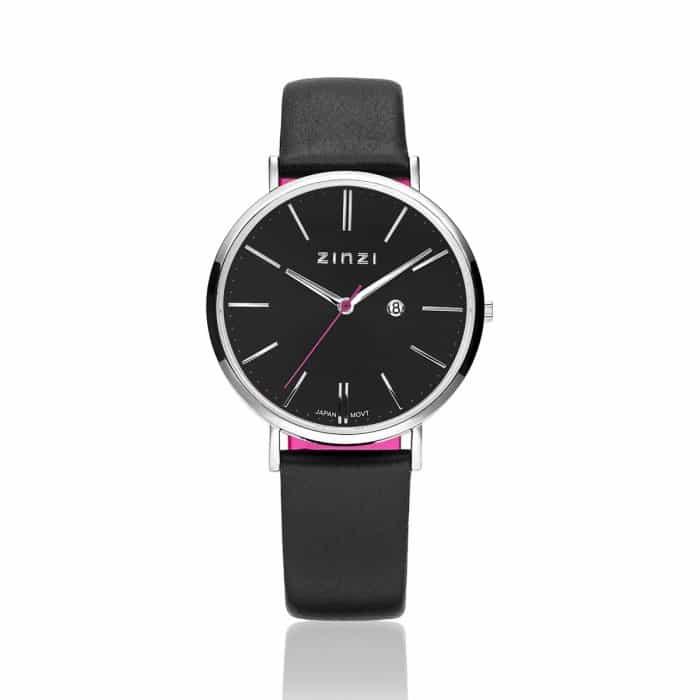 Zinzi Retro horloge zwart ZIW401
