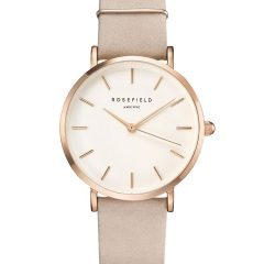 Rosefield the Tribeca white black rosegold