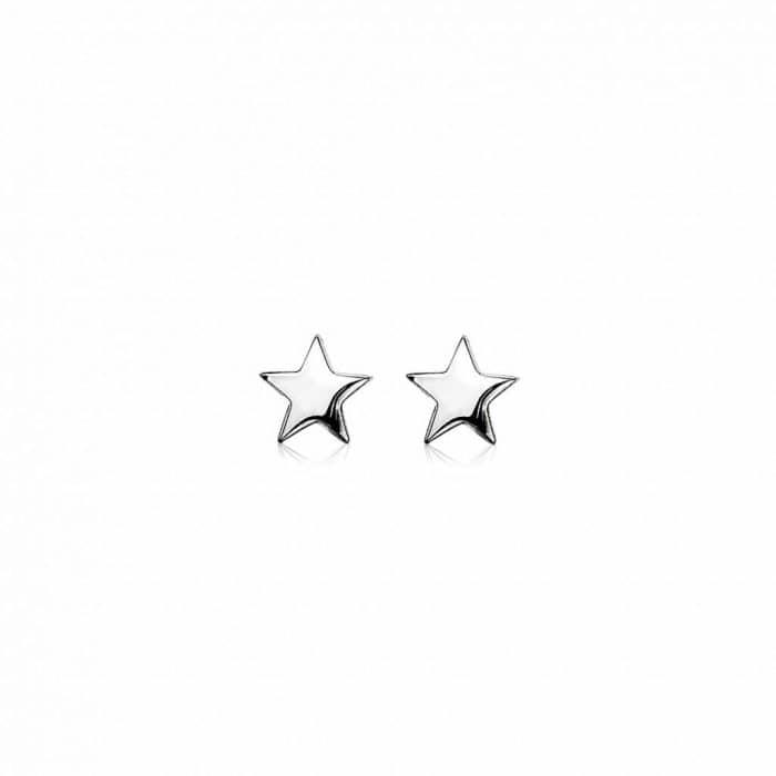 Zinzi zilveren vierkante oorhangers ZIO1138