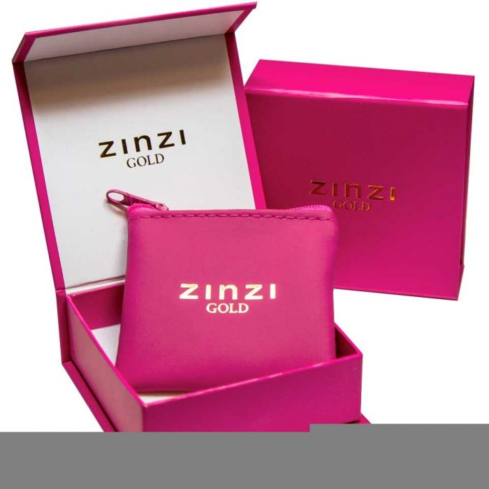 ZINZI Gold 14 karaat gouden creolen ZGO128