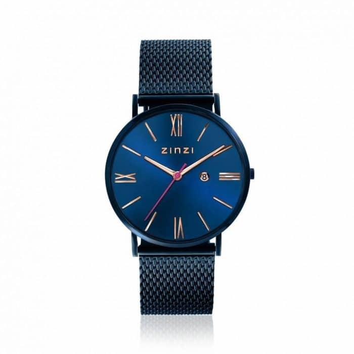 ZINZI Roman horloge blauw ZIW514M