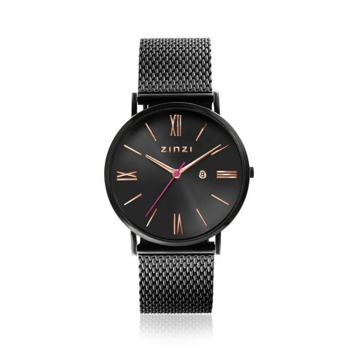 ZINZI Roman horloge zwart ZIW509M