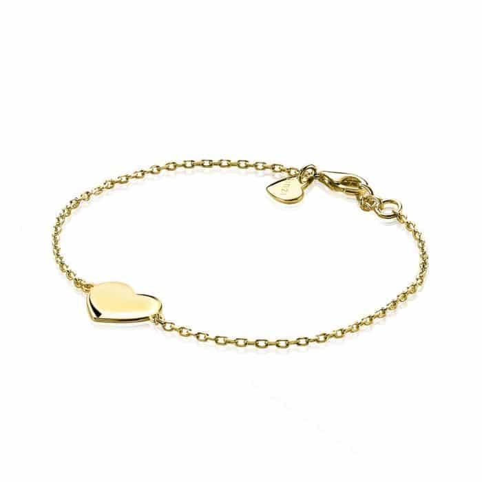 Zinzi zilveren armband hart ZIA1307G