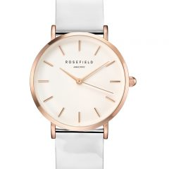 Rosefield the Premium White metallic rosegold