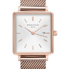 Rosefield The Boxy wit-rosegold