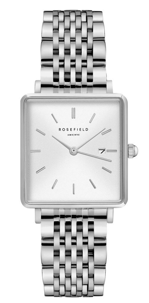 Rosefield The Boxy wit-zilver