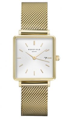 Rosefield The Boxy wit-gold