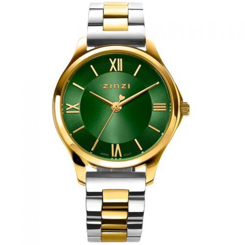 ZINZI Classy horloge groen ZIW1235